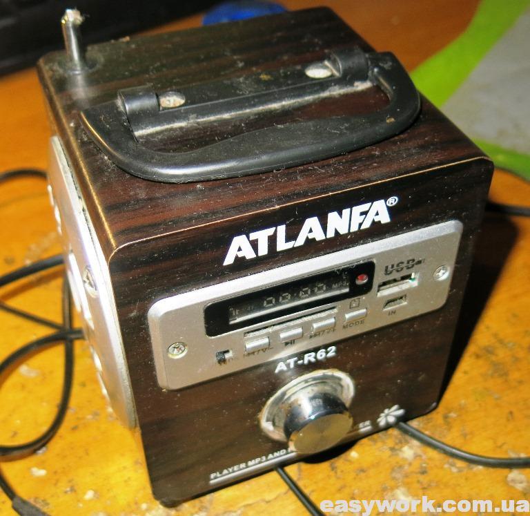 Радиоприемник ATLANFA AT-R62