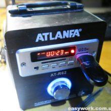 Ремонт радиоприемника ATLANFA AT-R62 (не заряжается)