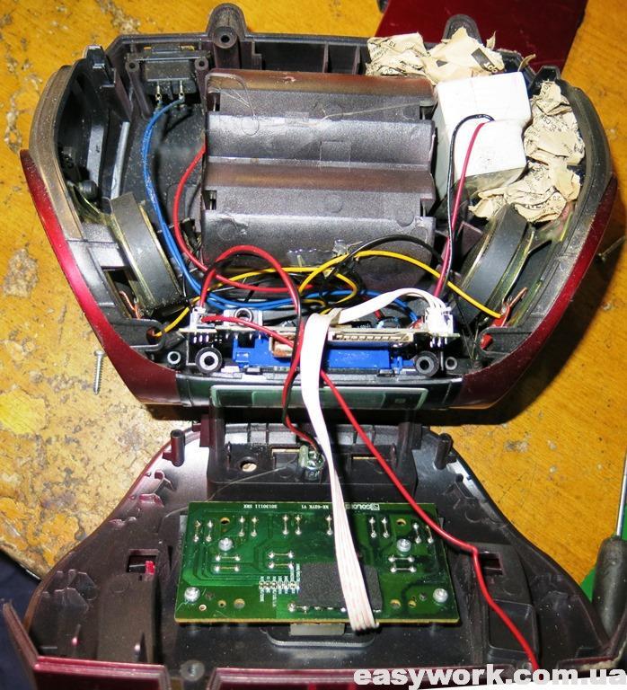 Внутреннее устройство GOLON RX-662Q