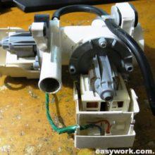 Чистка помпы DC97-16441C от стиральной машины Samsung