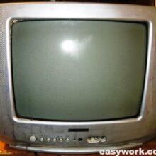 Телевизор DAEWOO KR14U1T не включается, цветопередача