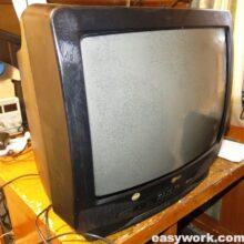 Ремонт телевизора LG CF-20E60 (не включается)