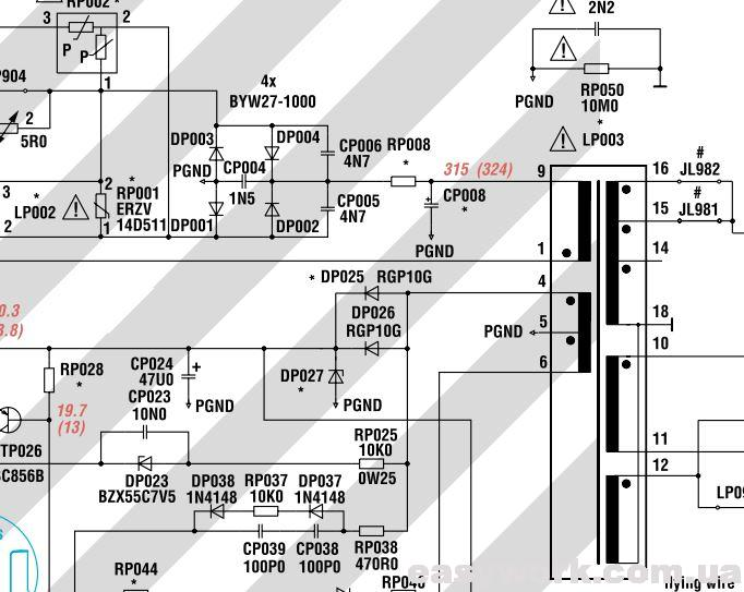 Стабилитрон DP027 BZX55B27