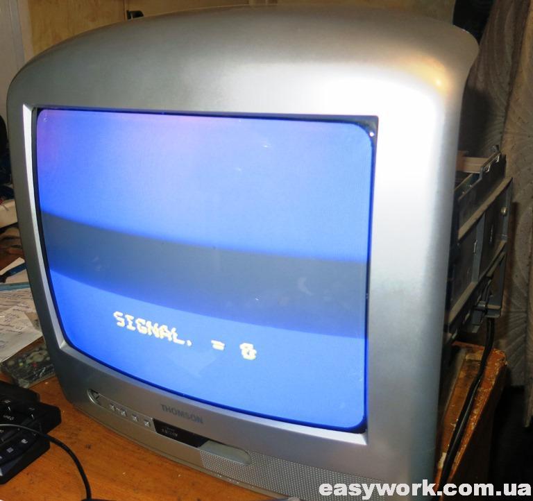 Отремонтированный телевизор THOMSON 14MK140G