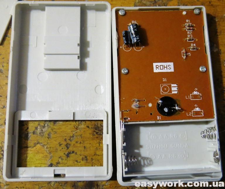 Внутреннее устройство тестера QD-JCY01