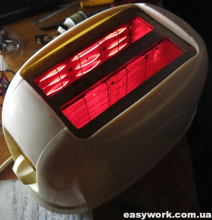 Отремонтированный тостер Elbee 15106
