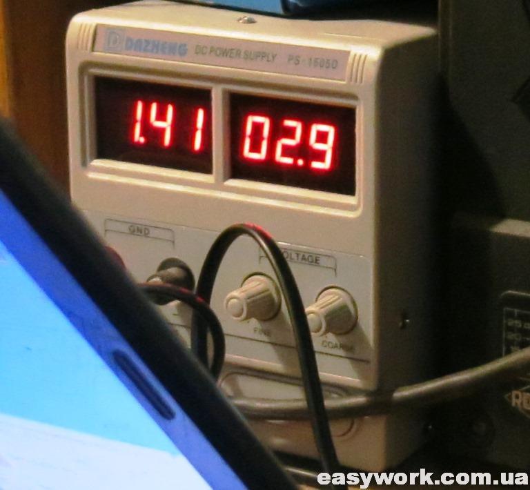 Большой ток напряжения 3.3 В