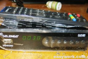 Ремонт тюнера Т2 SELENGA HD950D (перезагружается)