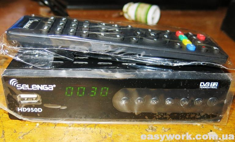 Т2 тюнер SELENGA HD950D