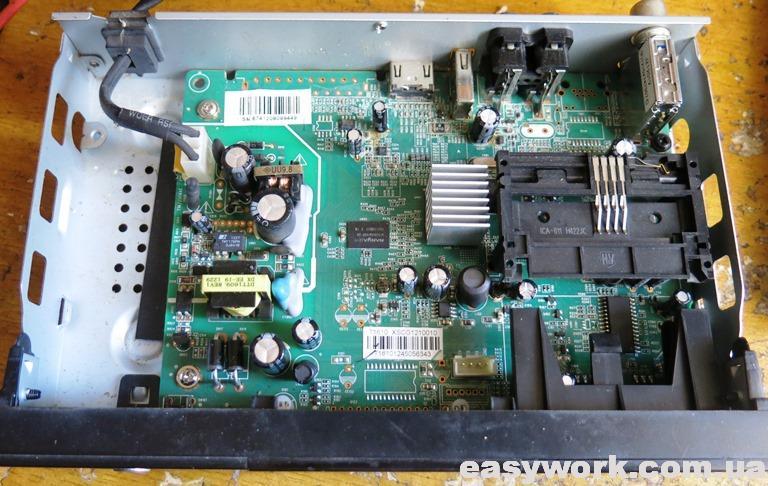 Внутреннее устройство тюнера STRONG 8500