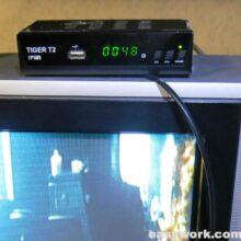 Ремонт тюнера TIGER T2 IPTV (не включается)