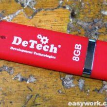 Попытка ремонта флешки DeTech 8 GB
