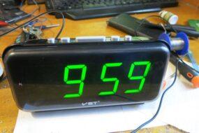 Ремонт часов VST (не включаются)