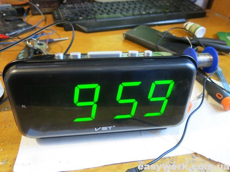 Отремонтированные часы VST