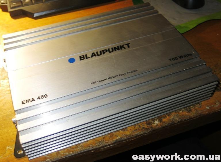 Автоусилитель Blaupunkt EMA 460