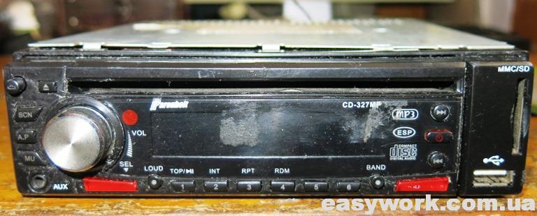 Магнитола Farenheit CD-327MP