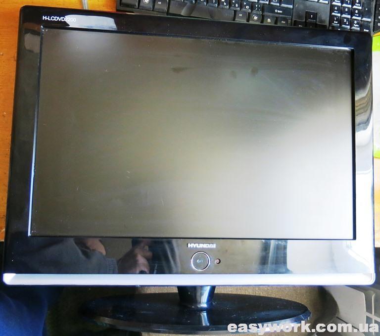 Телевизор Hyundai H-LCDVD2200