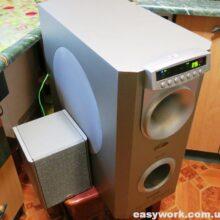 Ремонт акустической системы F&D HT-475 (нет звука)