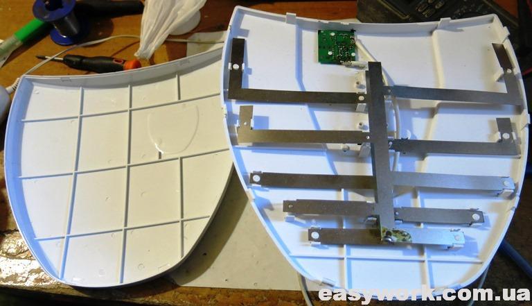 Внутреннее устройство антенны Fobos 2.1