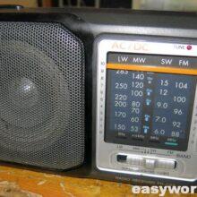 Ремонт радиоприемника Aiwa FR-C52 EZ (нет гнезда)