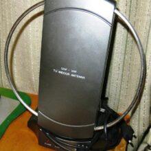 Ремонт UHF-VHF антенны TV INDOOR ANTENNA (сетевой шнур)