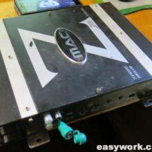Ремонт усилителя Mac Audio Z 2100 (глухой звук)
