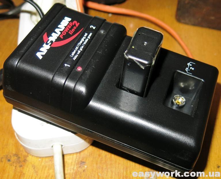 Отремонтированное зарядное устройство