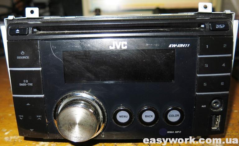 Магнитола JVC KW-XR411