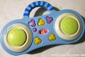 Ремонт мобиля Taf Toys MP3 11275 (не включается)
