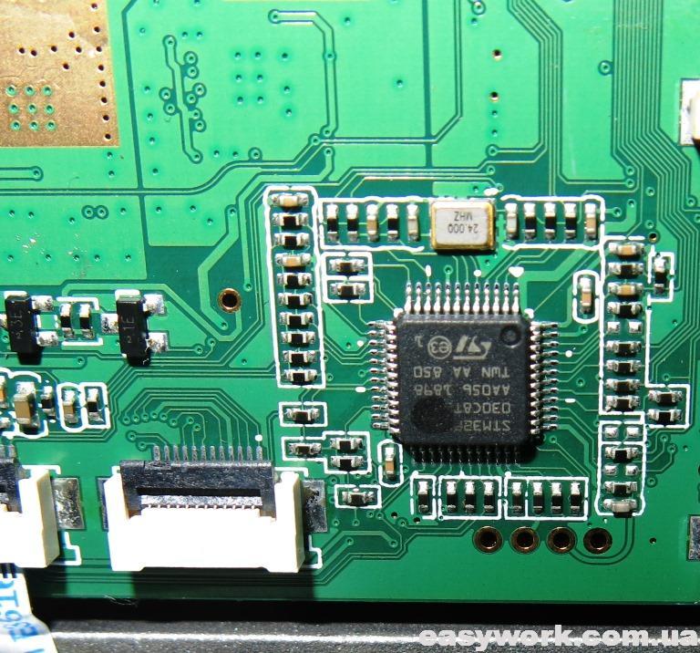 Микроконтроллер STM32F030C8T6