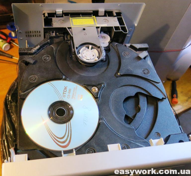 Лоток для компакт-дисков