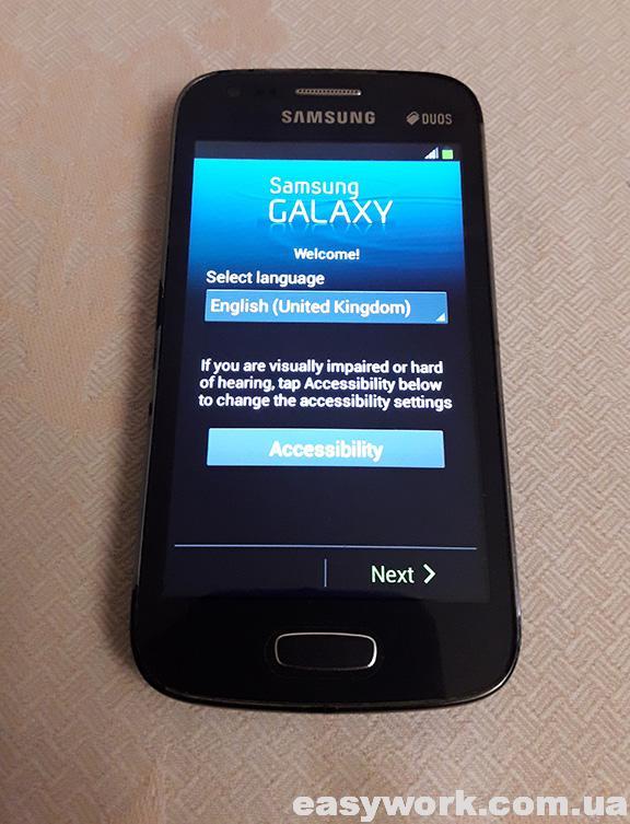 Восстановленный телефон Samsung Galaxy Ace 3 GT-S7272