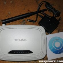 Ремонт роутера TP-Link TL-WR740N (нестабильная работа)