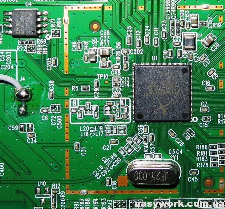 Процессор Atheros AR9331-AL3A
