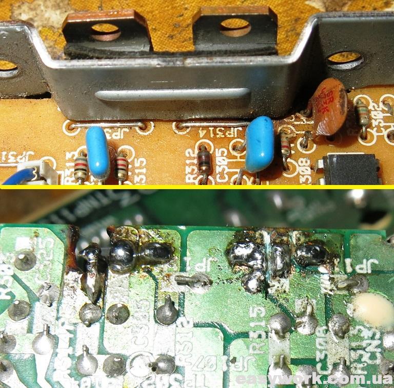 Замененные транзисторы