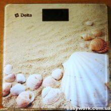 Осмотр поломанных весов Delta D-9207/3