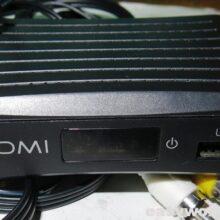 Ремонт T2 тюнера NOMI T201 (нет изображения)