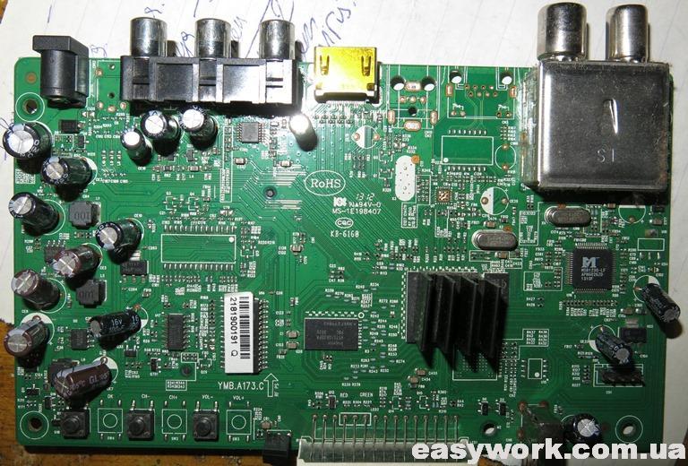 Плата тюнера ROMSAT RS-300