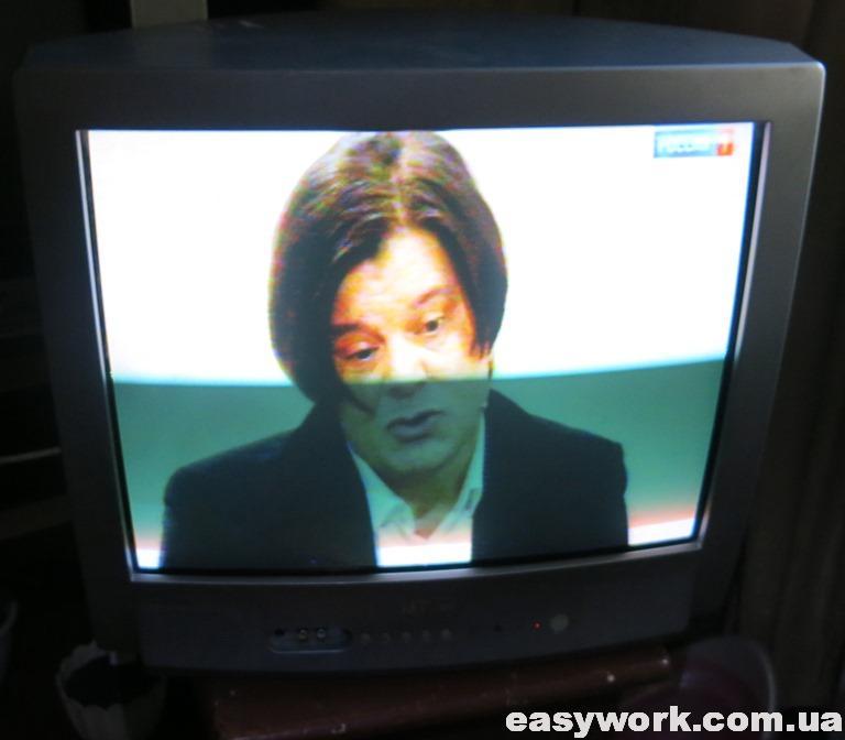 Отремонтированный телевизор