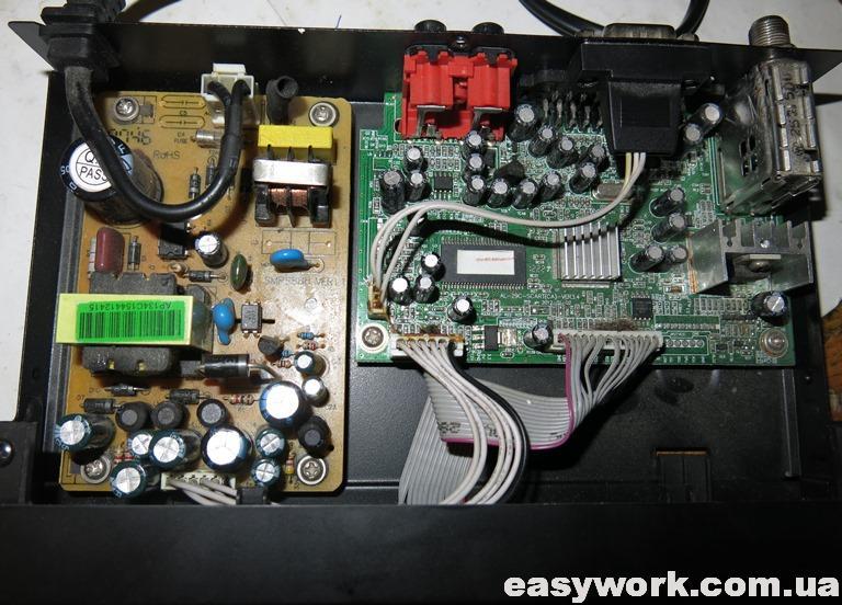 Внутреннее устройство REDSAT 4100C