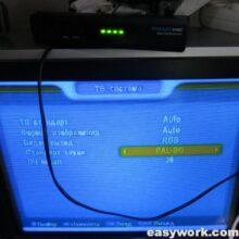 Ремонт тюнера REDSAT 4100C (нет изображения)