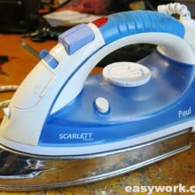 Ремонт утюга Scarlett SC-132S (не греет)