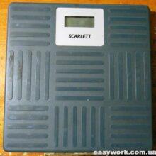 Ремонт весов SCARLET SC-215 (не включаются)