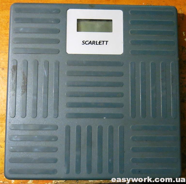 Весы SCARLET SC-215