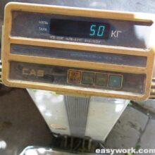 Ремонт весов CAS DB-60H (плавают показания)