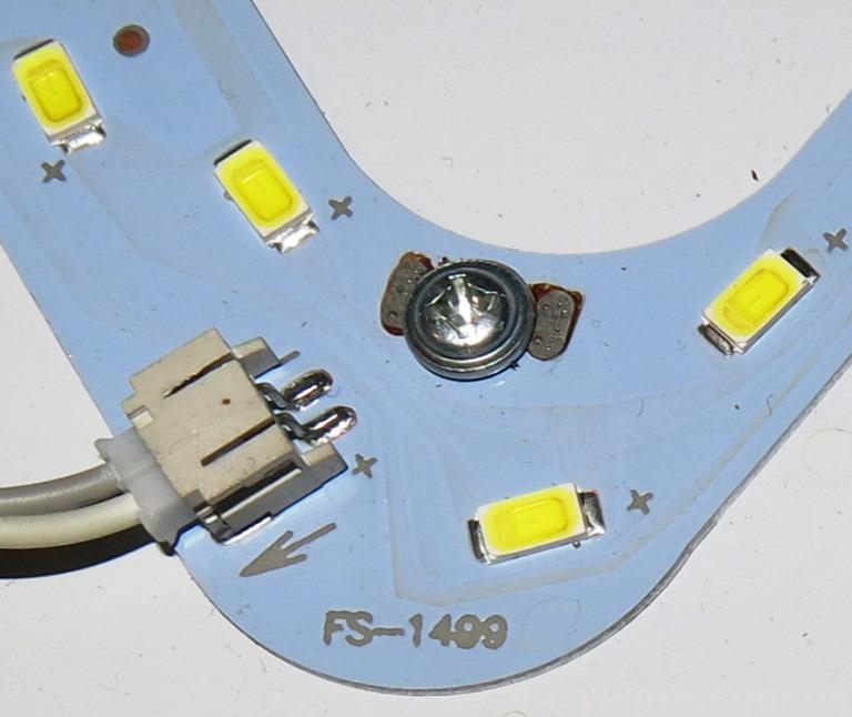 Используемые светодиоды