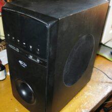 Ремонт акустики Gemix HT-3050 (нет низких частот)