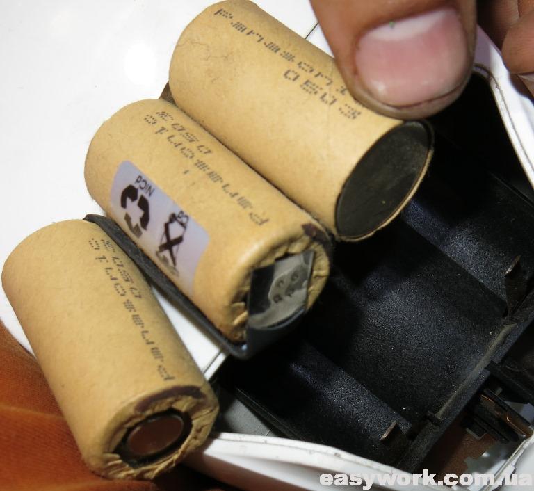 NiCd аккумуляторы (фото 2)