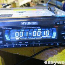 Ремонт магнитолы HYUNDAI H-CMD7082 (нет звука)