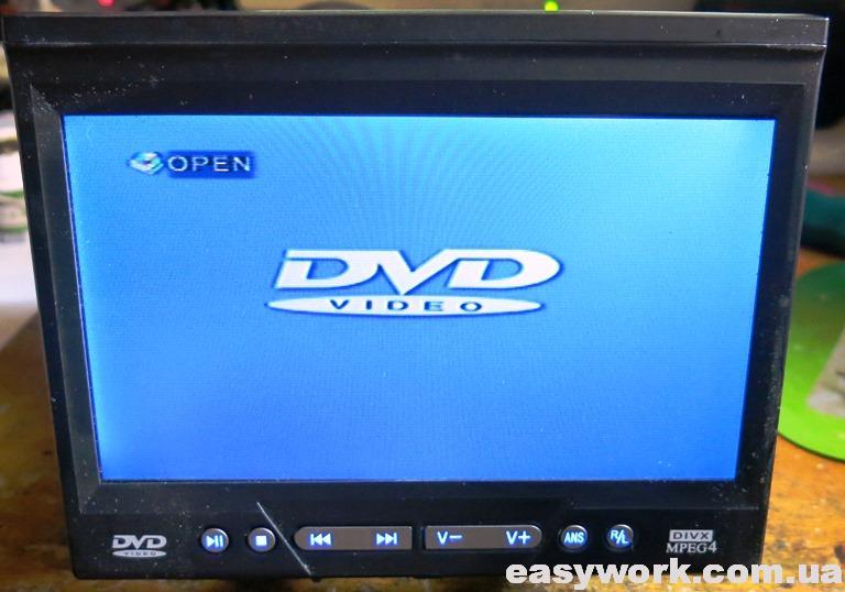 Режим воспроизведения DVD